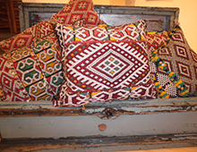 Hand Woven Moroccan Pillows