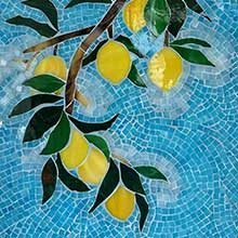 Please welcome glass mosaic artist Vaiju Saraf
