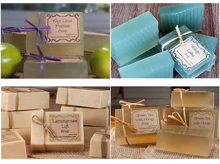 lakeshore soaps at fortunate discoveries chicago
